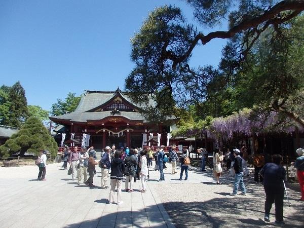 ①まず笠間稲荷神社を参詣