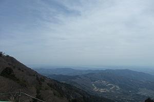 ⑧男体山頂上の展望,2回目の下見で